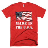 Made in America T-shirt - White Letters