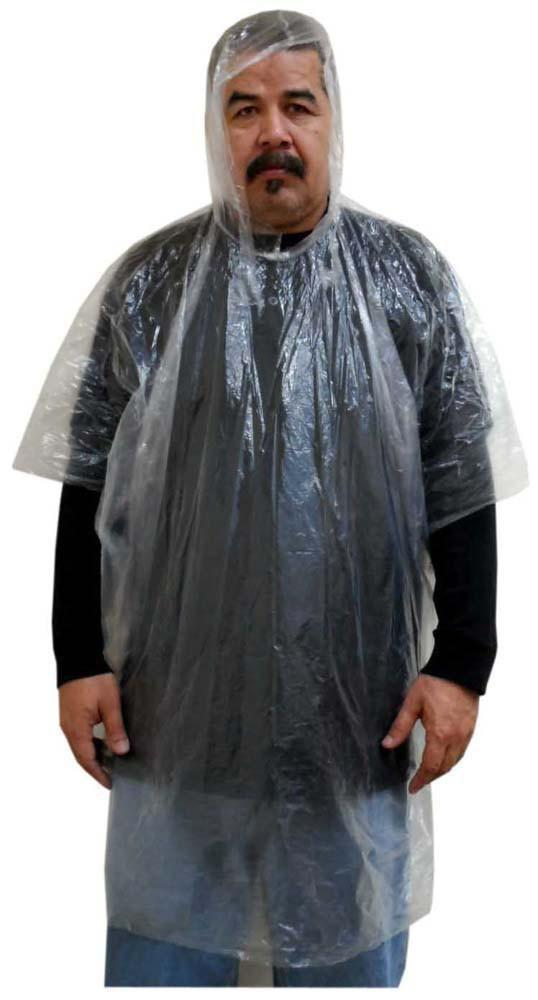 Clear - Emergency Poncho 3MIL
