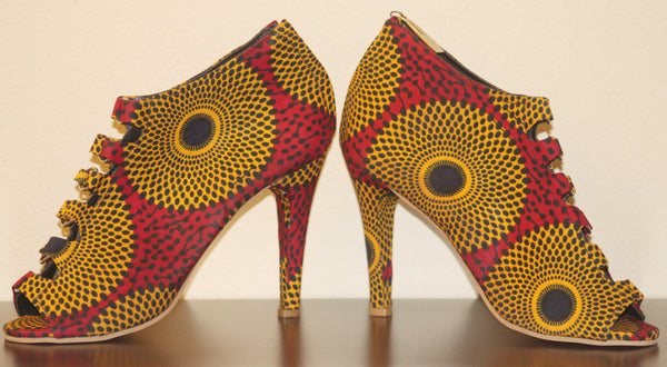 Shoe and Bag Ankara Set