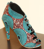 Womens Ankara Shoe
