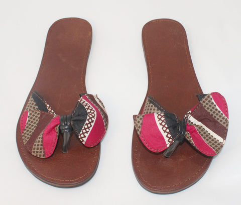 Leather Slippers - Ladies