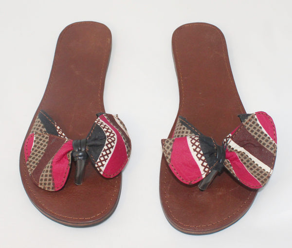 Leather Slippers - Ladies - Nubian Goods