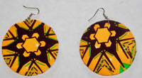Earrings Ankara Print - Select from over 20 styles !