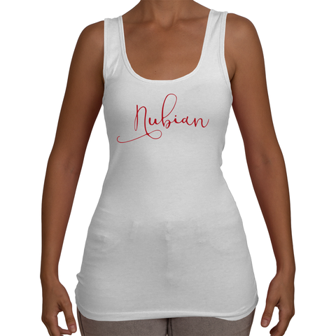 Ladies Nubian Tank Top T-Shirt