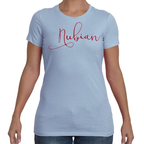 Ladies Nubian T-Shirt Comfort Fit