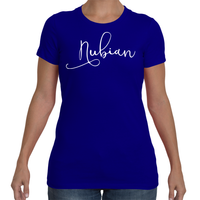 Ladies Nubian T-Shirt Comfort Fit - Nubian Goods