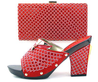 Matching Dress Shoe and Clutch