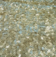 Sequin Material - Gold Color Headwrap