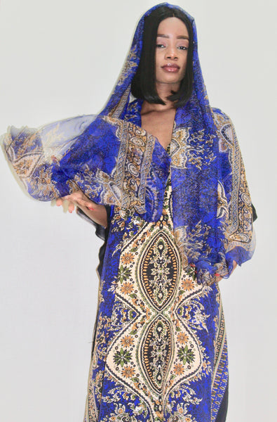 Ladies Kaftan Dress - Nubian Goods
