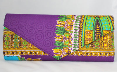 The Lagos Ankara Clutch/Purse - Nubian Goods