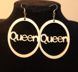 Earrings - Queen