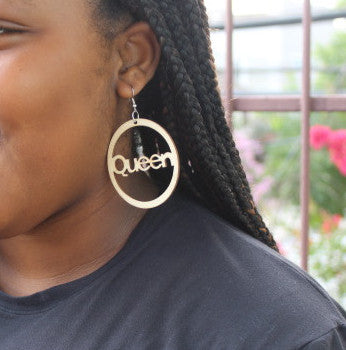Earrings - Queen - Nubian Goods
