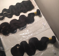 Indian Hair Body Wave Extensions 10A - Nubian Goods