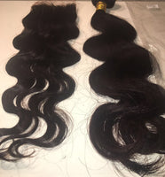 Indian Hair Body Wave Extensions 10A