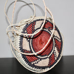Round Handwoven Basket Purse