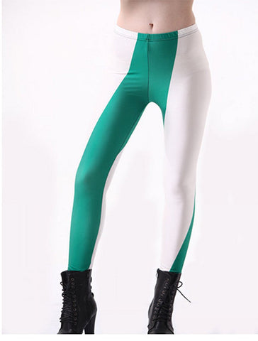 Printed Leggings Nigerian Flag