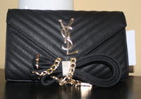 Designer Leather Purse Crossbody