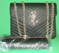 Designer Leather Handbag and Purse
