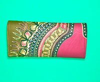 The Bujumbura Ankara Clutch/Purse - Nubian Goods