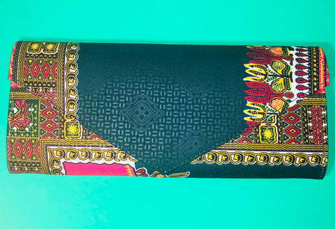 The Stone Town Ankara Clutch/Purse - Nubian Goods