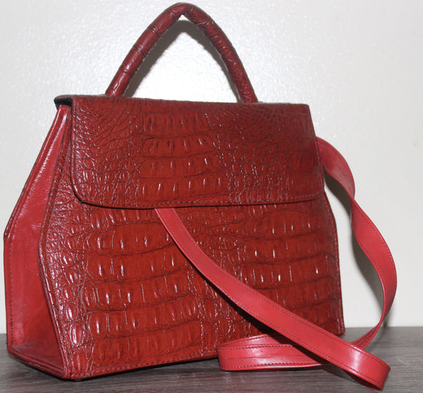 The Luanda Leather Mini HandBag/Purse - Nubian Goods