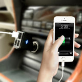 4-Port USB high-capacity car charger for smartphones & tablets