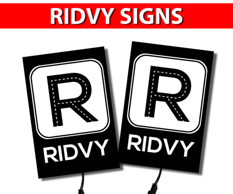 Ridvy Glow Light Signs