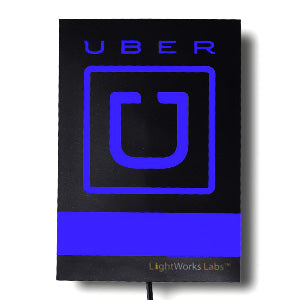 Get Uber & Lyft Glow Light Signs at a Discount: Clearance Items