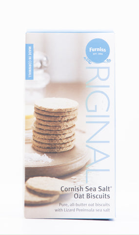 Furniss – Cornish Sea Salt Oat Biscuits 170g