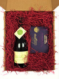 Wine & Chocolate Gift Set With Personalised Message