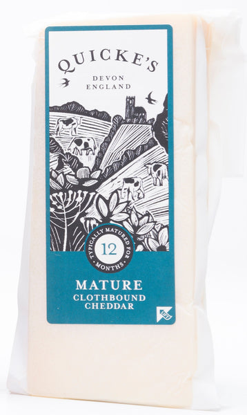 Quicke's Traditional - Mature Clothbound Cheddar 200g