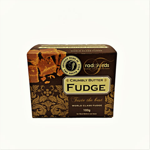 Radfords - Crumbly Butter Fudge 100g