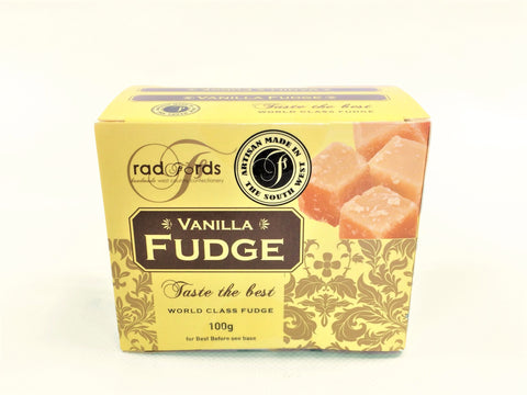 Radfords - Vanilla Fudge 100g
