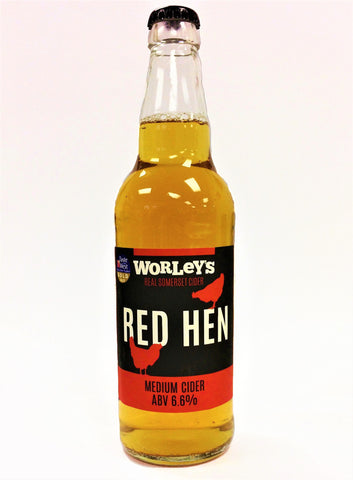 Worley's Cider - Red Hen 50cl