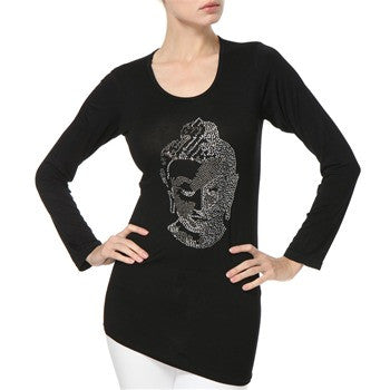 Budhha diamante t shirt