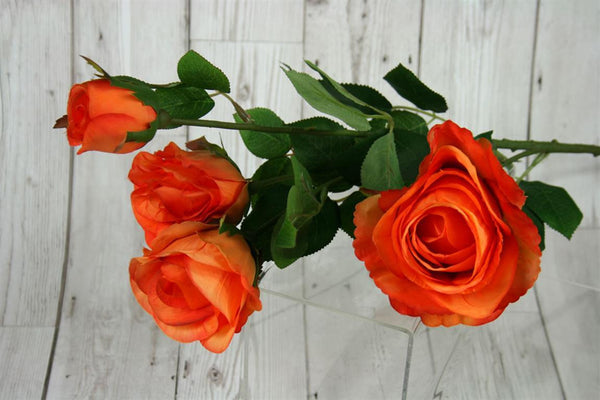 Rose Bunch Spray 78cm