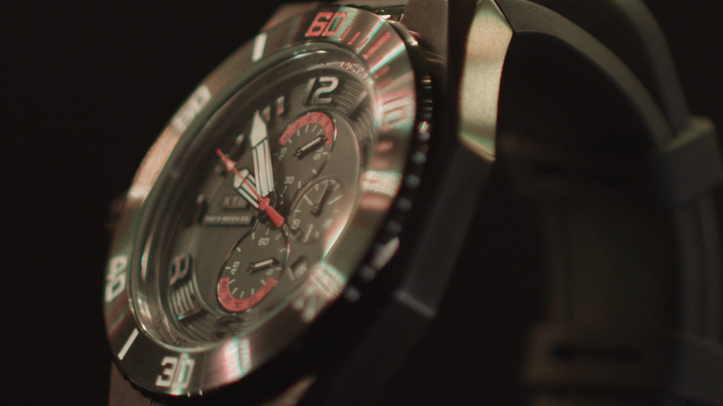 Tire'd Watch Company debuts television commercial for newest collection, the XTS Chrono