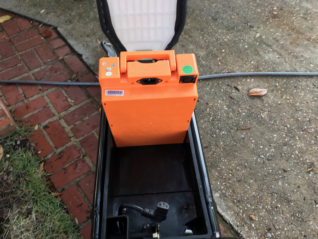 Giant Orange Power Brick - 20AH Lithium Ion Battery