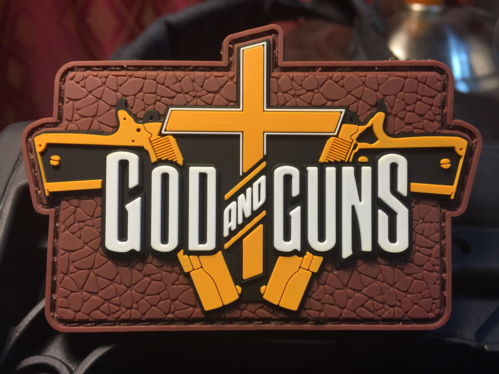 God and Guns Morale Patch