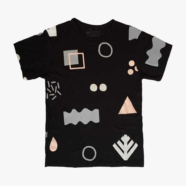 DE1989 x B&H: Pattern89 T-Shirt [Black]