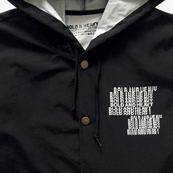 2:36am Windbreaker Jacket [Black]