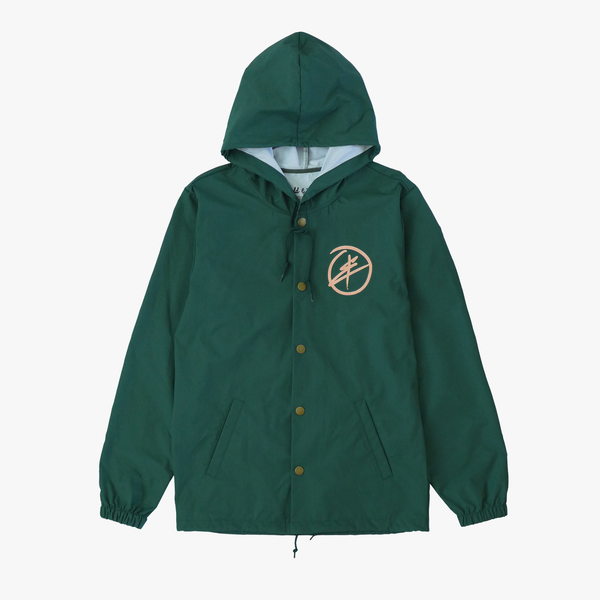 Polka Plus Windbreaker [Forest Green]