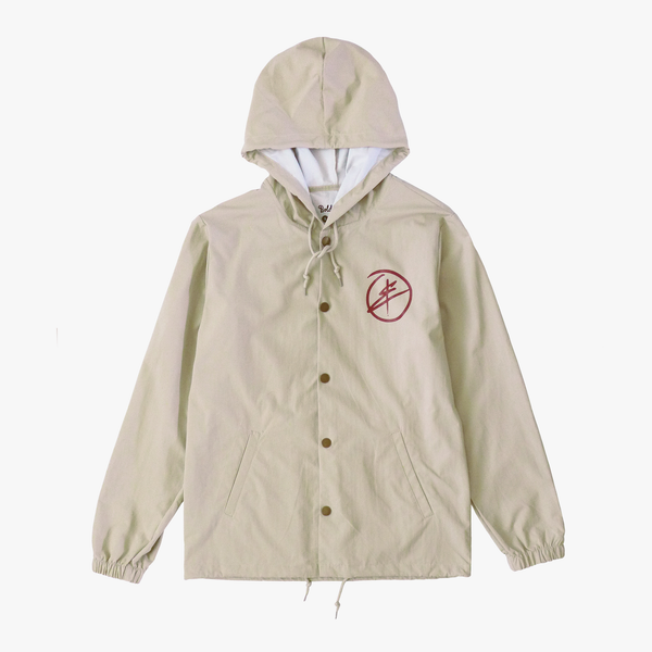 Polka Plus Windbreaker [Khaki]