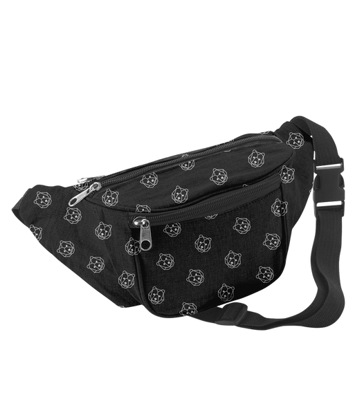'Bear' Black Bumbag