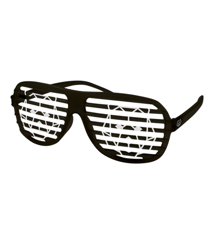 'Bear' Shutter Shades Black