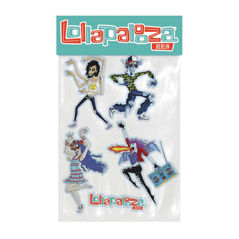 Characters Sticker Pack