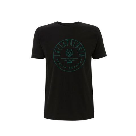 Circle Stamp Men's Black Tee -