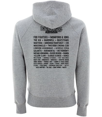 'Event 2017' Grey Pullover Hoodie
