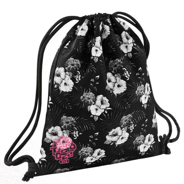 Small Logo Floral Gymsac