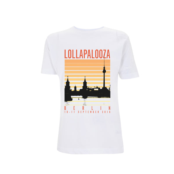 Summer Silhouette Men's White Tee -